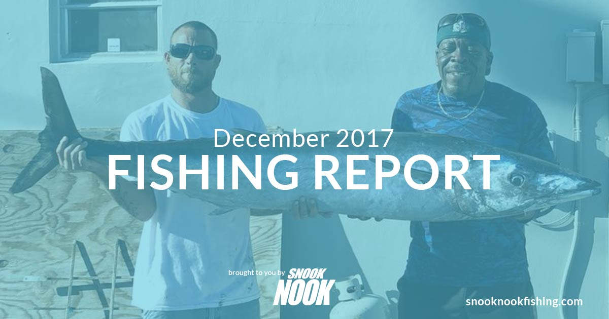 Fishing Report – December 2017 – Stuart, FL