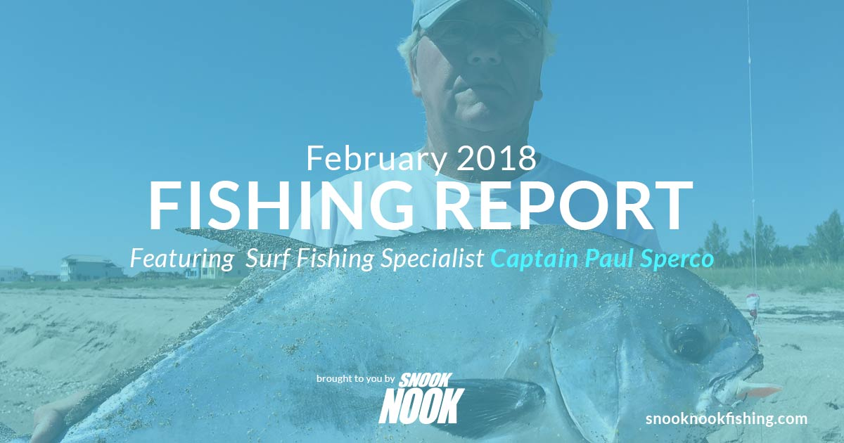 Fishing Report – February 2018 – Stuart, FL